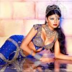 Sherlyn Chopra looking hot in Saree