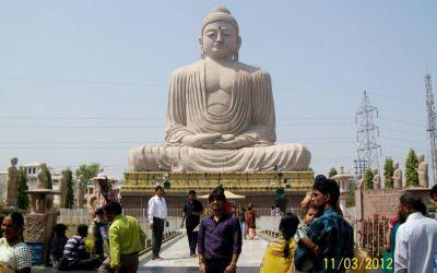 80ft long Lord Buddha Statue in Bodhgaya Bihar