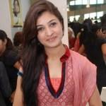 Alka Lamba posing for Pics at a Party