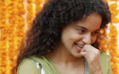Kangana Ranaut in movie Queen