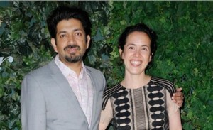 Dr. Siddhartha Mukherjee and Wife Sarah Sze