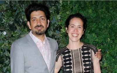 Dr. Siddhartha Mukherjee and Wife Sarah Sze