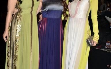 Kajol and Tanisha Mukherjee at Lakme Fashion Week Summer Resort 2014