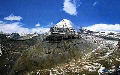 Peak of Kailash Mountain