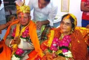 N D Tiwari and Ujjwala Sharma getting Married