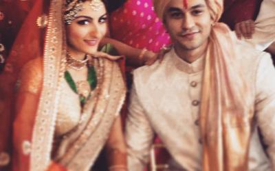 Soha ali khan with husband kunal khemu