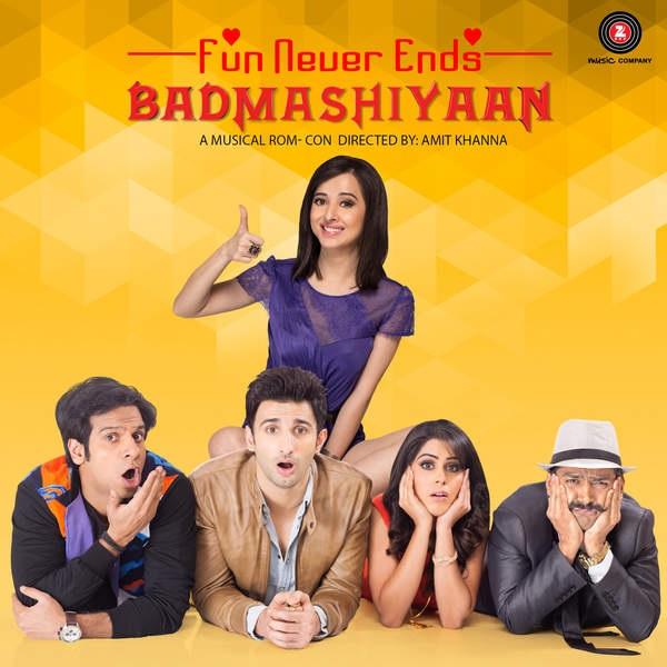 Badmashiyaan Movie Release Poster