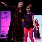 Bhoomi Trivedi walking the Ramp for Archana Kochhar