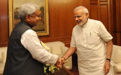 Nitish Kumar meeting PM Narendra Modi