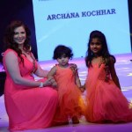 Urvashi Sharma walking the Ramp for Archana Kochhar