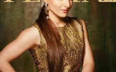 Soha Ali Khan looks stunning on Femina India Bangla Cover for April 2015