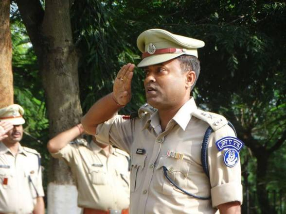 Aswini Jha is presently second In-Command of 106 RAF at Jamshedpur