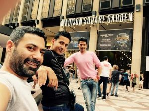 Singers Meet Bros at Madison Square Garden