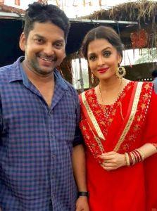 Aishwarya Rai with Choreographer Vishnu Deva