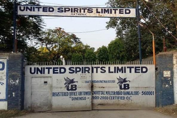 United spirits bottling plant at Hatidah, Mokamah Bihar