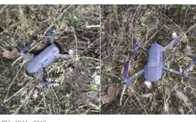 Pakistan Army Drone Shot Down