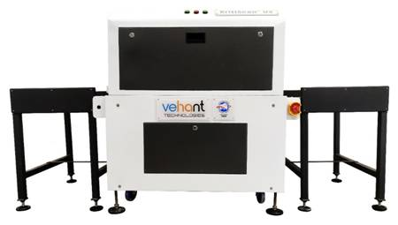 UV System for baggage Scan Disinfection