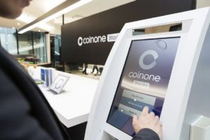 Exchange Coinone ของเกาหลีเปิดตัว Physical Cryptocurrency Exchange