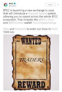 BTCC lançará nova plataforma do Exchange em junho