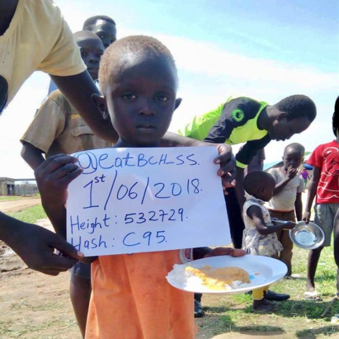 BCH Powered Charity 'Eat BCH' Starts Feeding People in South Sudan