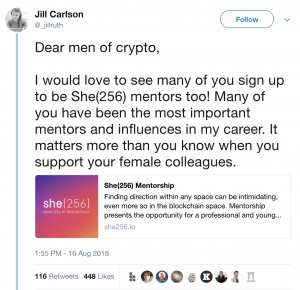 She(256) Mentorship Program Aims to Help More Women Gain a Cryptocurrency Career