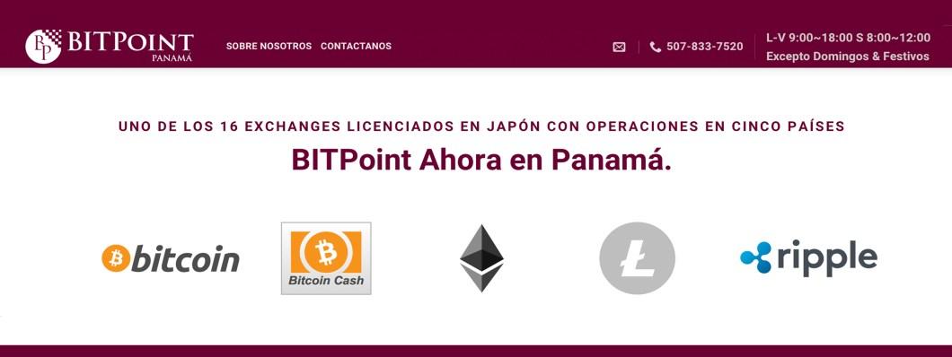 Japanese Exchange Bitpoint Launches Trading Platform in Panama