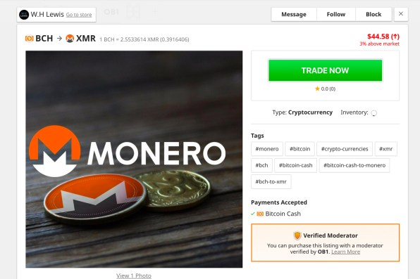 A Look at Openbazaar's Multi-Currency Wallet and Vendor Listings