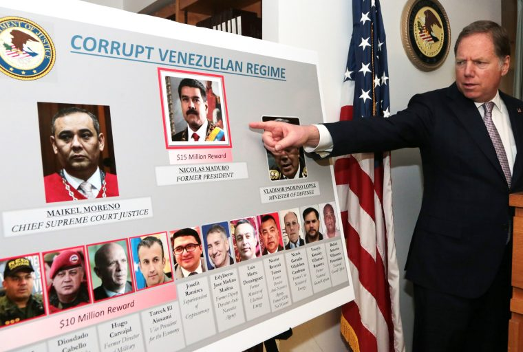 $15 Million Bounty on Maduro: US Charges Venezuelan President With Narco-Terrorism and Drug Trafficking