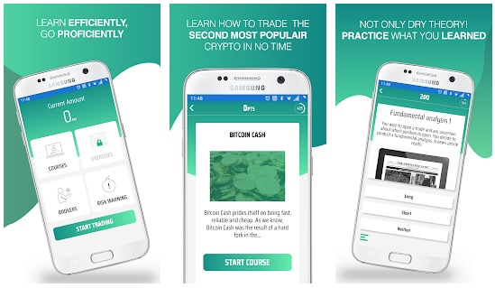 This App Teaches You How to Become a Bitcoin Cash Trader