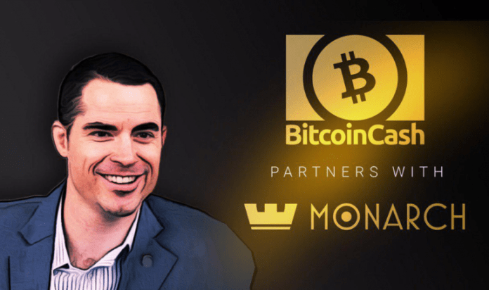 Monarch Blockchain Corporation Now Supports Bitcoin Cash in Monarch Wallet