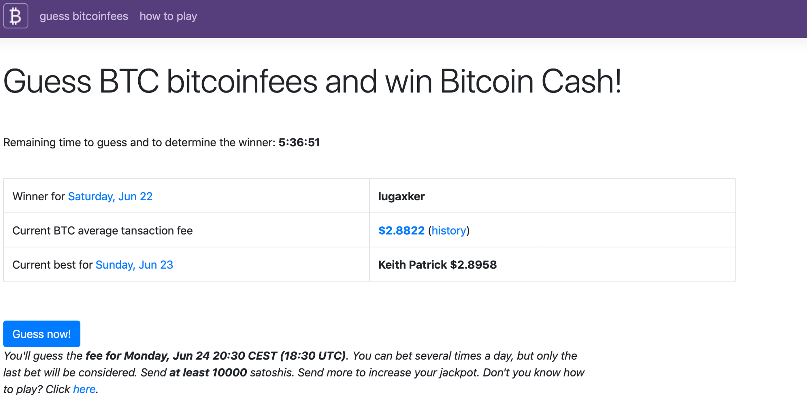 New Betting Game Allows People to Wager on BTC's Next Block Fee
