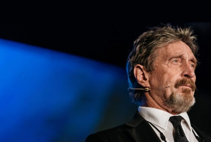 After Fleeing From the US Government John McAfee Warns His Enemies