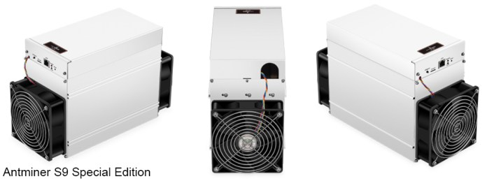 Bitmain Launches Low-Cost Special Edition Antminer S9