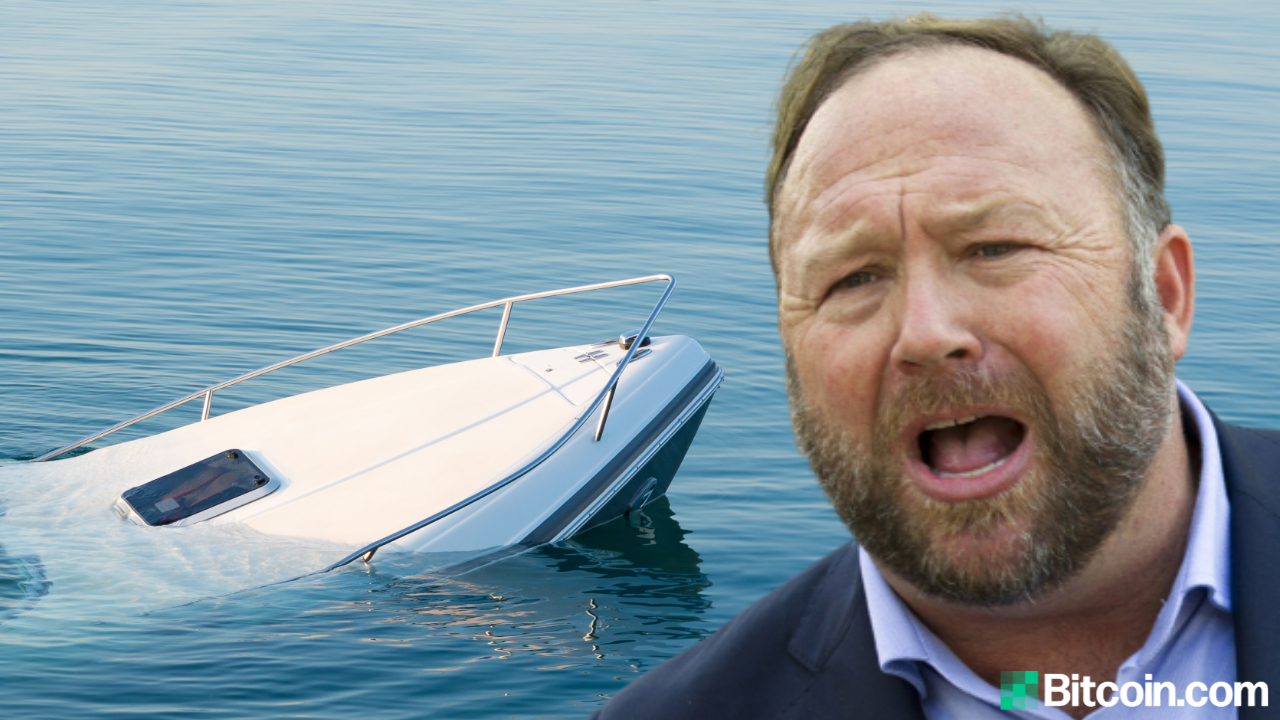 Alex Jones Lost Laptop Containing 10,000 Bitcoins
