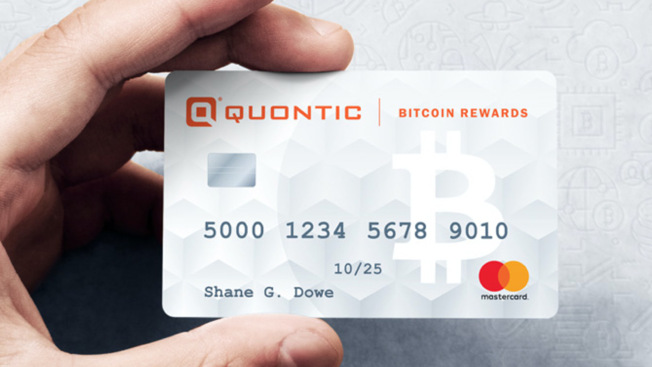 Quontic Bank Launches Bitcoin Rewards Checking Account With Debit Card for US Customers