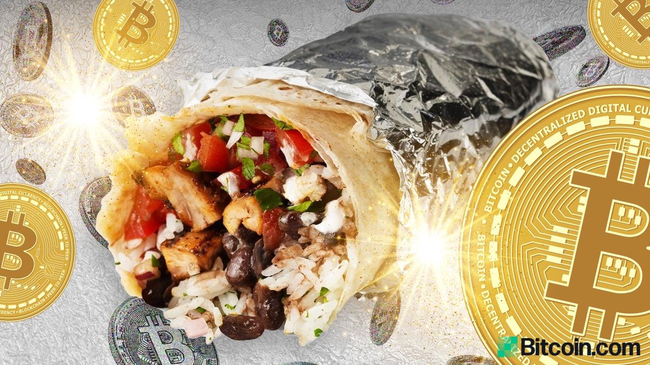 Bitcoin gratis: la gran cadena de comida rápida de EE. UU., Chipotle, regala $ 100,000 a BTC para celebrar el Día Nacional del Burrito