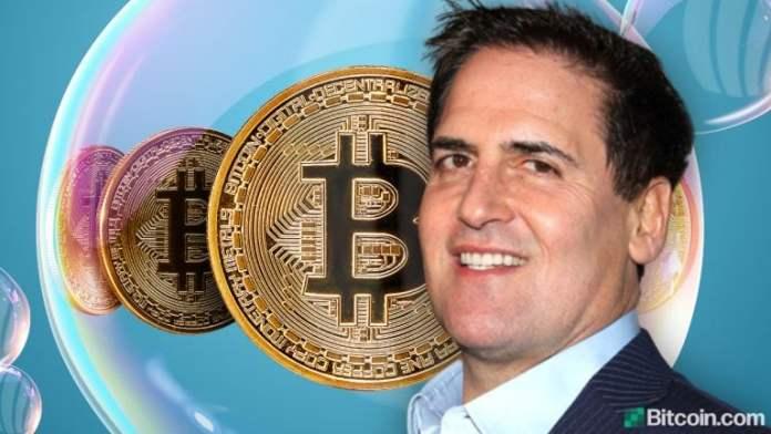 Mark Cuban: Crypto 'Exactly' Like Dot-Com Bubble, Expects Bitcoin to Survive Bubble Burst and Thrive Like Amazon