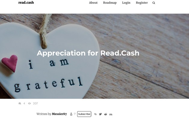 Close to $6k in Bitcoin Cash Tips Paid to Read.cash Authors Last Week
