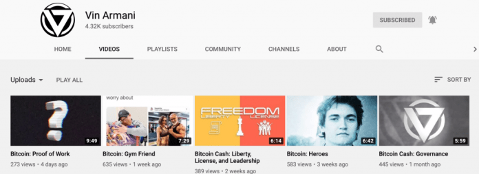 Cointext CTO Vin Armani Talks Content, Reveals the 'Real' Bitcoin in New Video