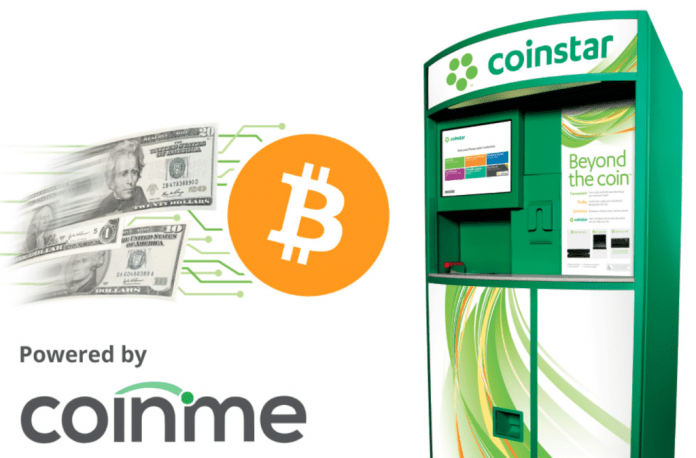 Coinme Adds BTC Purchase Function to Over 100 Coinstar Kiosks in California