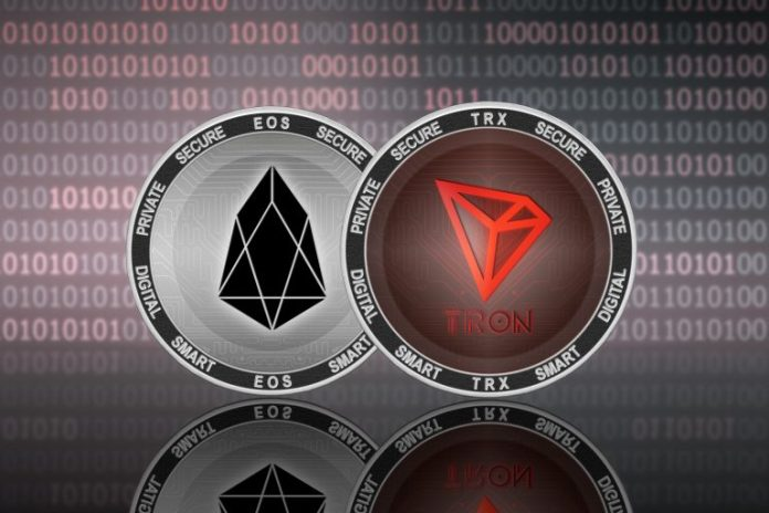 Ethereum, Tron and EOS Dominate Dapps With 98% of All Volume