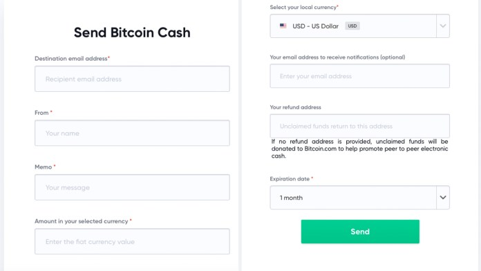 Gifts and Remittances: Bitcoin.com's New Tools Allow People to Send BCH via Email
