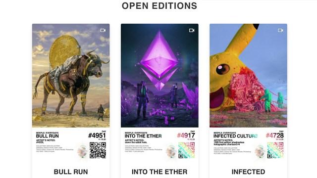 Critically acclaimed NFT artist's blockchain-backed digital art auction raises $3.5 million