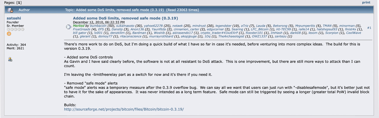Ten Years Ago Satoshi Nakamoto Logged Off - The Final Message from Bitcoin's Inventor