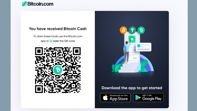 Bitcoin.com Wallet adds shareable payment link function-send Bitcoin Cash to anyone via text, email and social media
