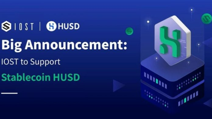 IOST in the First Batch to Support HUSD Stablecoin