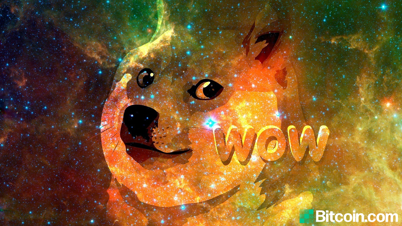 Dogecoin Markets Soar as Token Nears a Half Dollar, DOGE Price Climbs 18,299% in 12 Months