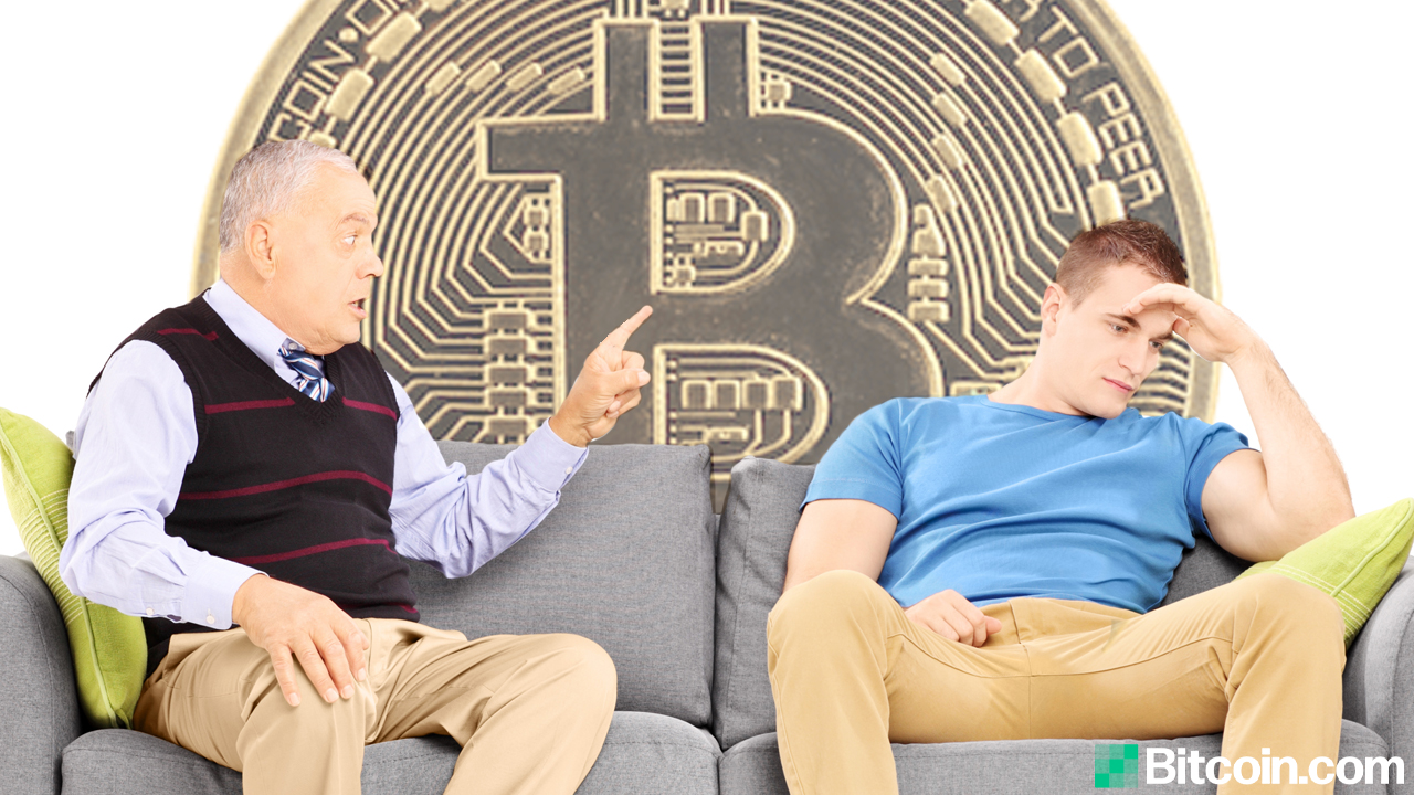 Father Laughs Off Son's Financial Hopes: How the Ones You Love the Most Want to See Bitcoin Fail
