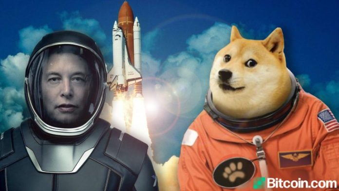 Dogecoin Nears All-Time Highs, Price Launches Higher After Elon Musk's 'Dogefather' SNL Tweet