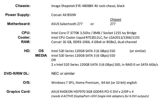 specifiche computer